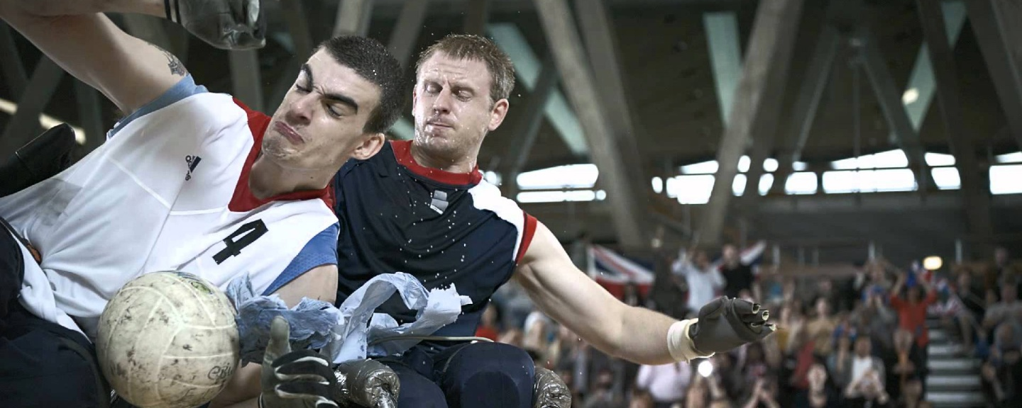 """An image from the """"superhumans"""" advertisement that ran during the London 2012 Paralympic games"""